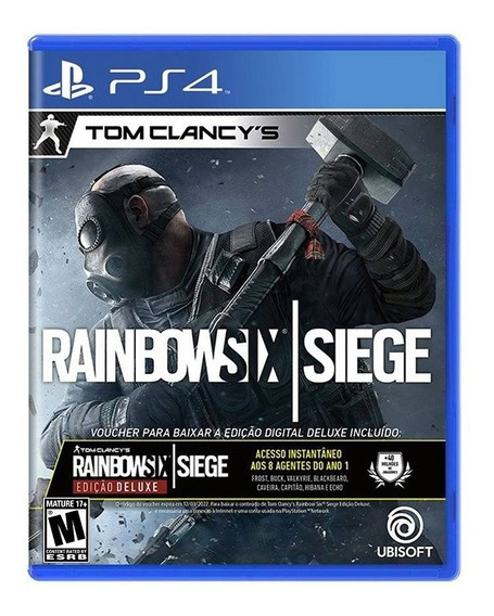 Tom Clancys Rainbow Six Siege Deluxe Edition - Ps4 - Novo