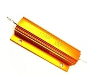 Resistencia 5% 100w Metal Oro Rx24 Alta Potencia(elegir Ohm)