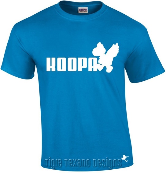 Playera Logo Koopa, Fun, Divertida By Tigre Texano Designs