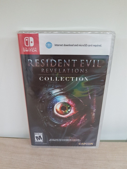 Resident Evil Revelations Collection Switch Lacrado Física