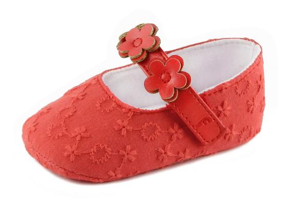 Zapato Ballerina Bb Soft Niña Rojo