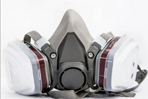 Imagen 1 de 6 de Máscara Para Pintor Automotriz Vapores Organicos