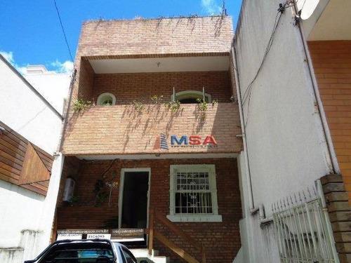 Imagem 1 de 19 de Casa Para Venda Em Perdizes, Ótimo Local Para Comércio - Ca0187