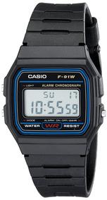 Relógio Casio F-91w Unissex Made In Thailand