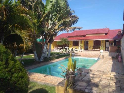 Espetacular Casa Com 4 Dormitórios No Jardim Atlântico, 600 M² - Ca3312