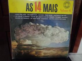 Lp As 14 Mais - Volume 6 Louco Por Você Roberto Carlos