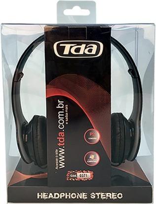 Headphone P2 Black Td7100 Tda iPod Mp3 Mp4 Tablet Pc Celular