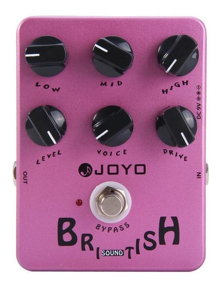 Pedal Joyo British Sound   Jf 16   Amp Simulator   Guitarra