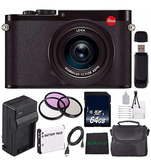 Camara Leica Q Typ 116 Digital + Extra Bateria + 64gb Memo ®