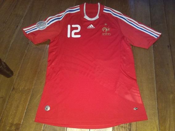 Camiseta De Francia Euro 2008 #12 Henry adidas Impecable