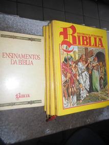 Coleção Histórias Ilustradas Da Bíblia Ed. Abril 5 Volumes