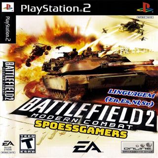 Battlefield 2 Ps2 Modern Combat Patch Tiro Desbloqueado Me