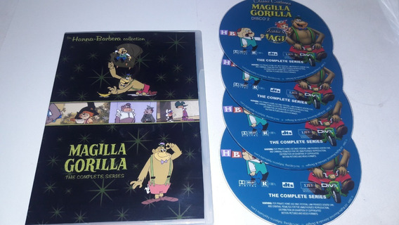 Pacote Dvds Desenhos Hanna Barbera ( Vários Clássicos )