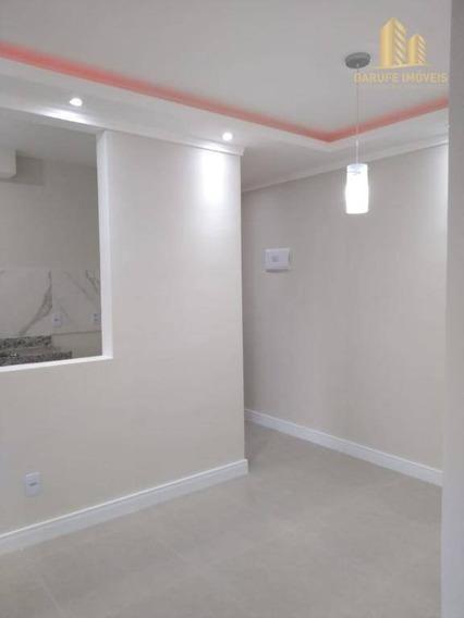 Apartamento Com 2 Dormitórios Para Alugar, 47 M² Por R$ 920,00/mês - Jardim Das Indústrias - São José Dos Campos/sp - Ap1602