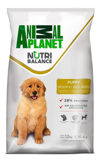 Animal Planet Alimento Perro Cachorro Raza Med/grande 12 Kg