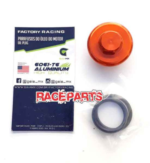 Outlaw Racing Orange Oil Site Plug KTM 65 All Years