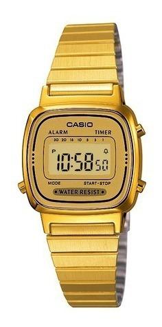 Relógio Casio La670wga 9df Original Nfe + Garantia