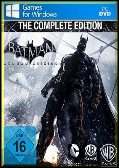 Batman Arkham Origins Complete Edition ( Mídia Física ) Pc