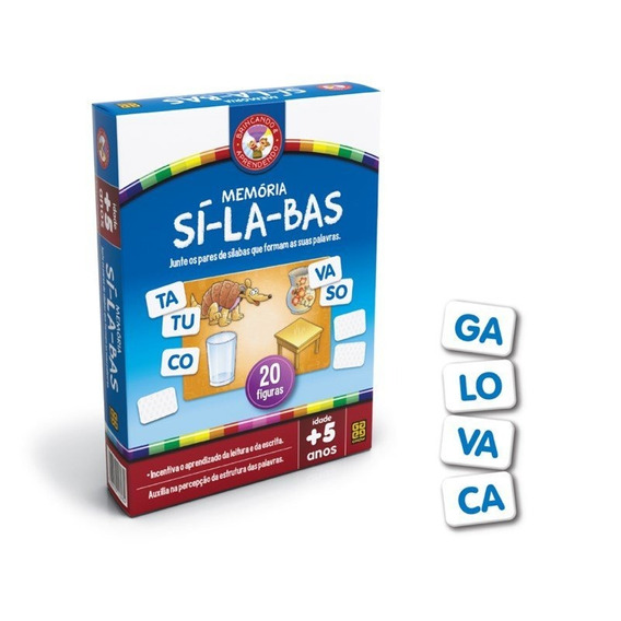 Educativo Memória Si-la-bas