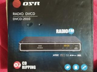 Reproductor Dvd Osr Radiofm