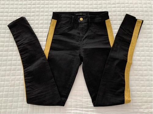 Jazmin Chebar Pantalón Jean 23 38 Xs