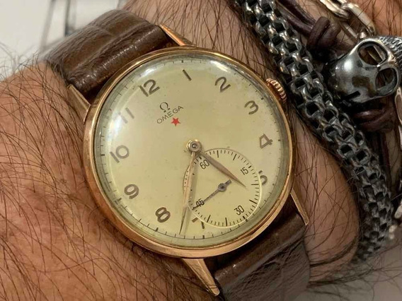 Omega 30t2 Ouro 18k/750 Vintage Swiss Made