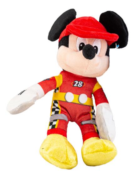 Juguetes Peluche Mickey Traje De Carrera 20cm