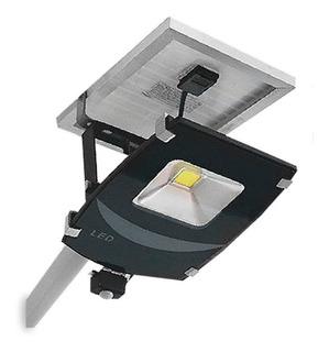 Reflector Led Solar Con Soporte Atomlux 50w Inalamrico 12cts