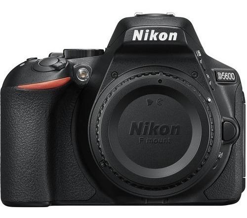 Câmera Nikon D5600 - Somente O Corpo + Recibo E Garantia