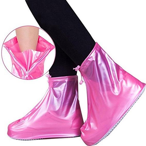 Botas Cubre Calzado Para Lluvia Impermeable Unisex Oferta