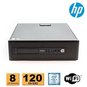 Computador Hp Elitedesk 800 I7 Vpro 4ª Geração 8gb Ssd 120gb