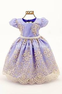 Vestido Princesa Sophia Original No Mercado Livre Brasil