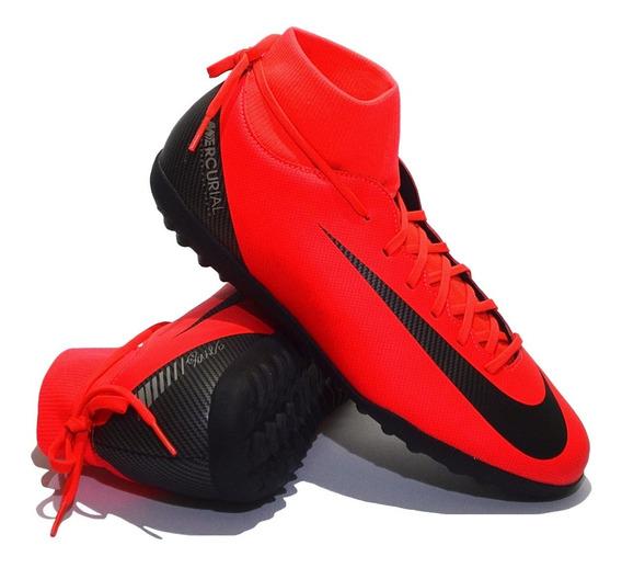 Botines Nike Modelo Superfly 6 Club Tf - Edición C R 7