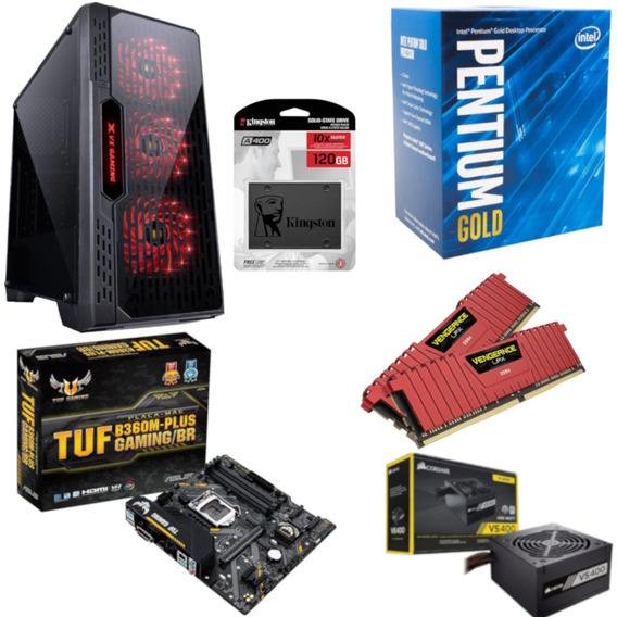 Pc Lumia Pentium G5400 B360m Plus Vg 16gb Vs400 Ssd 120gb