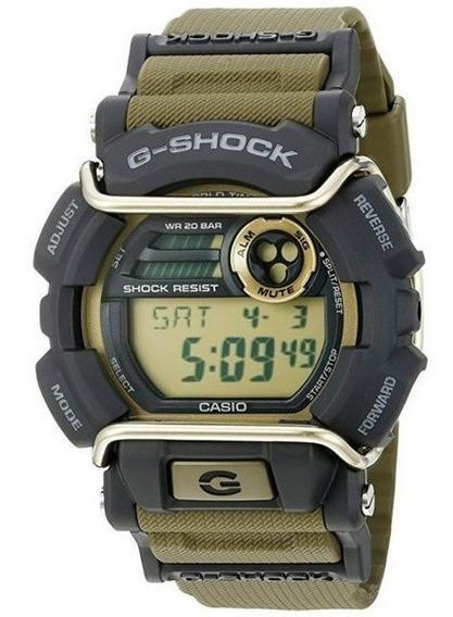 Relógio Masculino Casio G-shock Gd-400 Verde Gd-400-9dr
