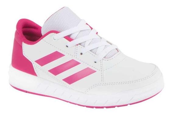 Tenis Caminar adidas Altasport K Blanco Rosa Niña 822663