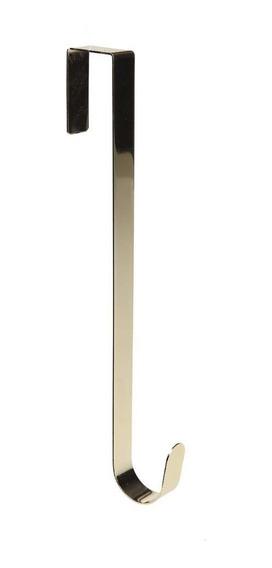 Suporte P/ Pendurar Guirlanda Decoração Natal 38cm Dourado