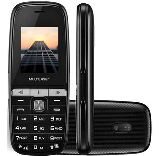 Celular Simples Multilaser Up Play Mp3 Dual Chip