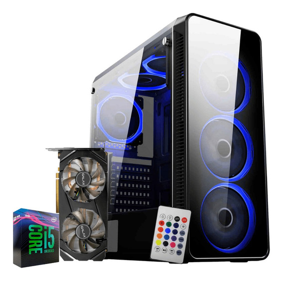 Pc Gamer I5 9600k Rtx 2060 6gb Ram 8gb Hd 1tb Ssd 120gb
