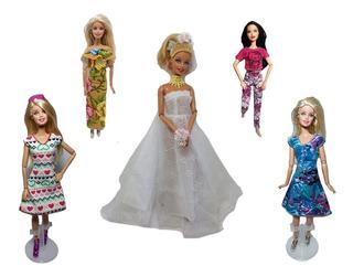 Lote Ropita Ropa De Barbie 50 Conjuntos Completos