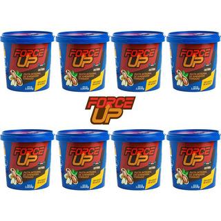 8x Pasta De Amendoim Force Up - Amendoim - 1kg