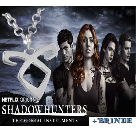 Colar Instrumentos Mortais Runa Poder Angelical Shadowhunter