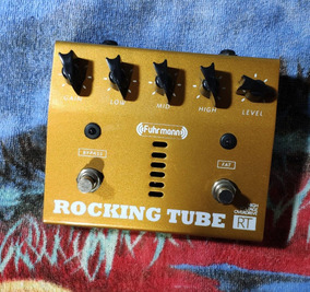 Fuhrmann Rt01 Rocking Tube C/ Caixa E Fonte - Willaudio