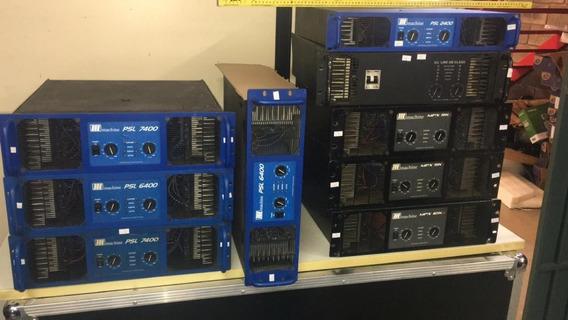 Amplificador Machine Psl6400 - 12 X Sem Juros
