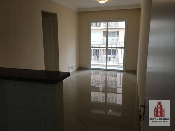 Apartamento Residencial Para Locação, Jardim Rosa De Franca, Guarulhos. - Ap0923