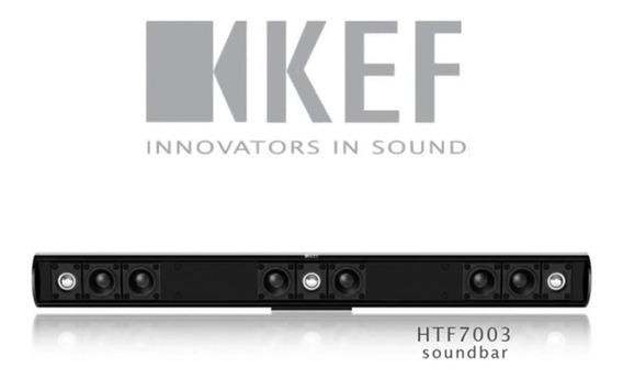 Kef Soundbar Htf7003 Lcr - 100w - Preto