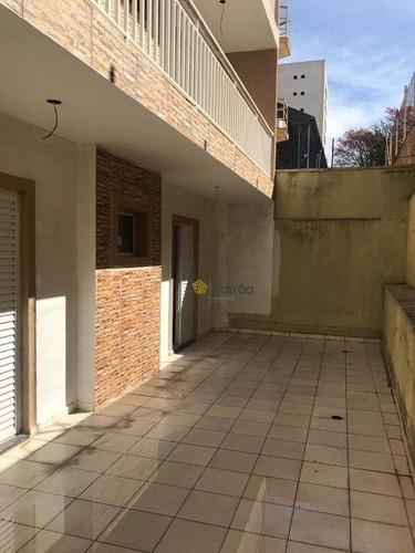 Apartamento Com 2 Dormitórios À Venda, 57 M² Por R$ 345.000,00 - Vila Baeta Neves - São Bernardo Do Campo/sp - Ap2726