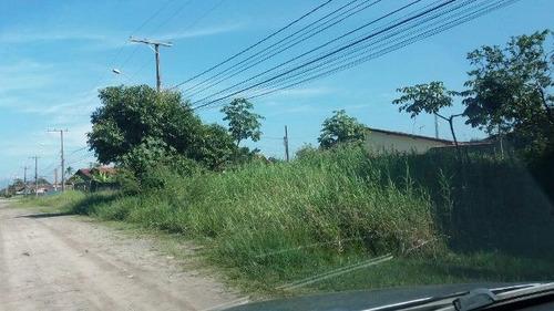 Terreno De Esquina No Jardim Regina - Itanhaém 4180   Sanm