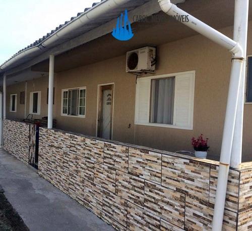 Casa Em Mongaguá, 2 Dormitórios Com 1 Suíte (unidade 02) - 3464