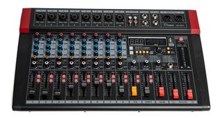Mixer Consola Digital Parquer 8 Canales 320 Efectos